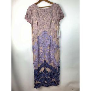 JS Collections Santiago Soutasch Misty Lilac Dress
